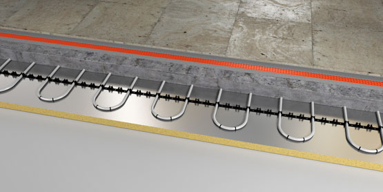 01 | cliprail underfloor heating system