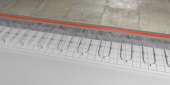 02 | Tacker underfloor heating system