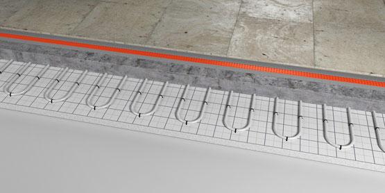 02 | Tacker underfloor heating system
