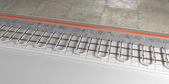 03 | Mesh underfloor heating system