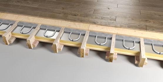 07 | BISCUIT SCREED underfloor heating system