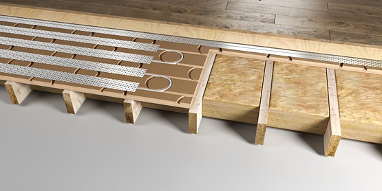 08 | Structural IN-FLOORBOARD underfloor heating system
