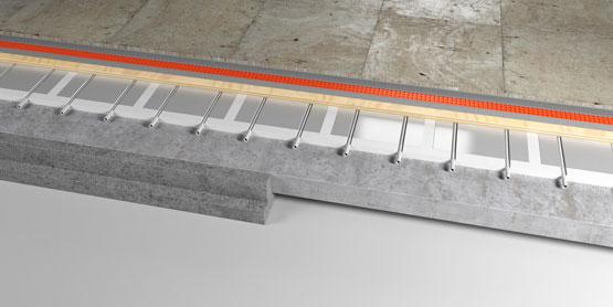 09 | Floating PLATED EPS underfloor heating system