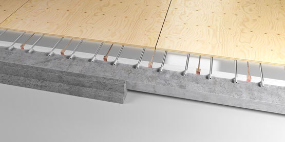 10 | BATTEN PLATED EPS underfloor heating system