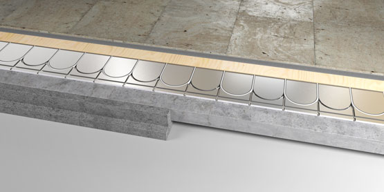 11 | ULTRA-LOW EPS underfloor heating system